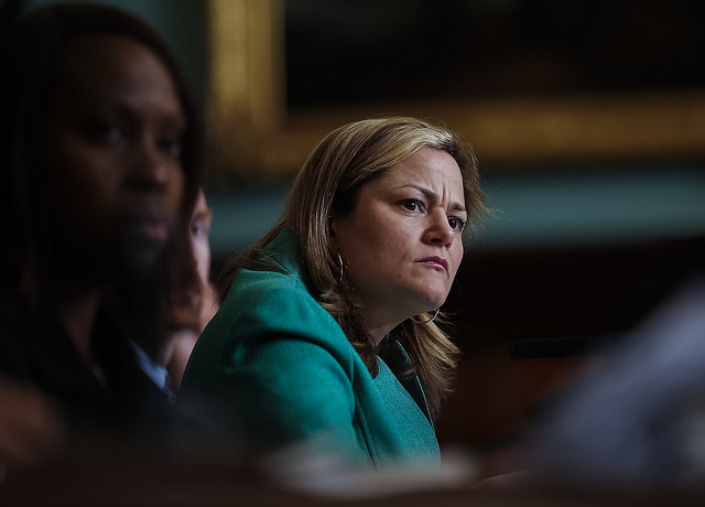 Melissa Mark-Viverito Council dais