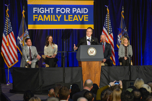 cuomo biden paid family leave