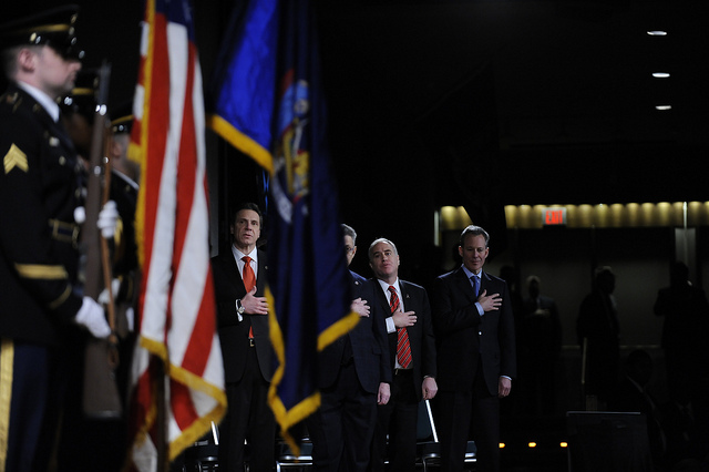 cuomo dinapoli flags state of the state