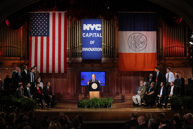Bloomberg city of innovation speech