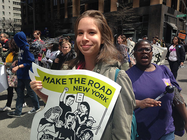 christine rodriguez make the road new york