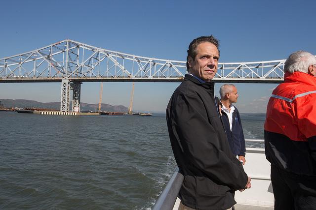Cuomo bridge water