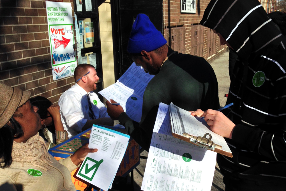 PBNYC Mobile Voting 2014 - East Harlem