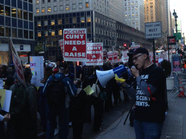 PSC CUNY-protest-2