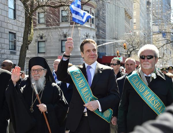 cuomo greek parade