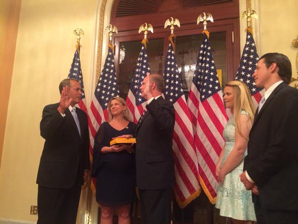 donovan swearing in