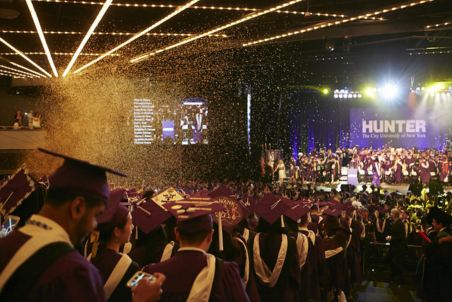 hunter college graduation