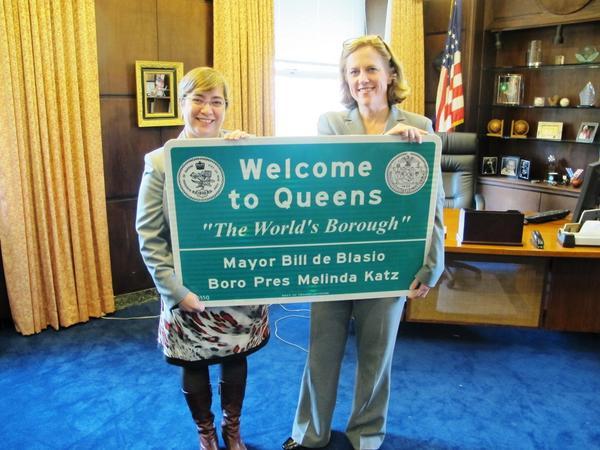 katz queens sign
