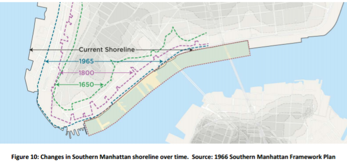 manhattan shorelines