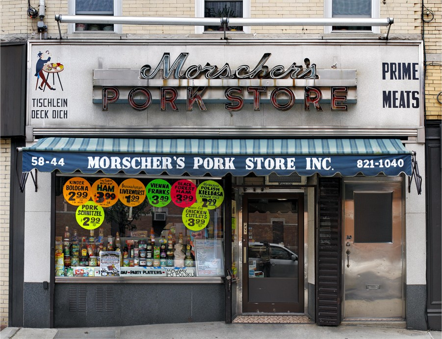 morschers pork store queens james karla murray