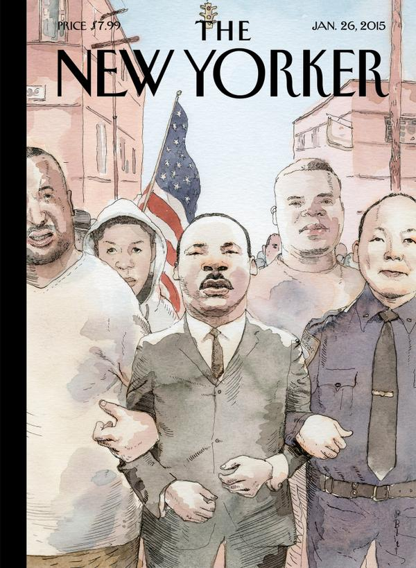 new yorker cover mlk
