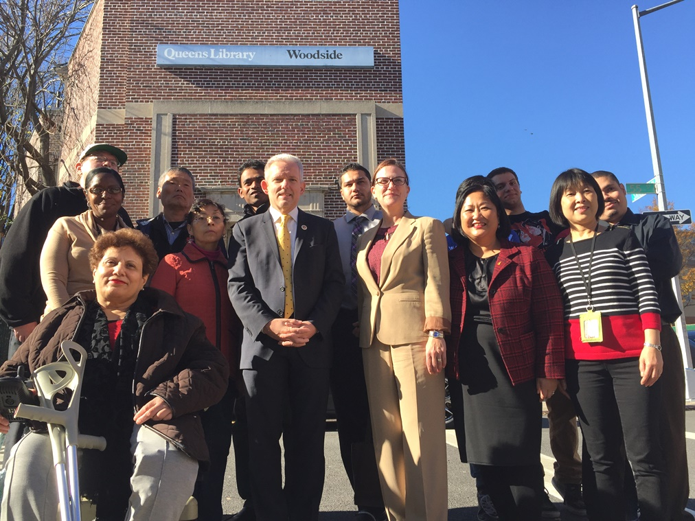 van bramer six day library service