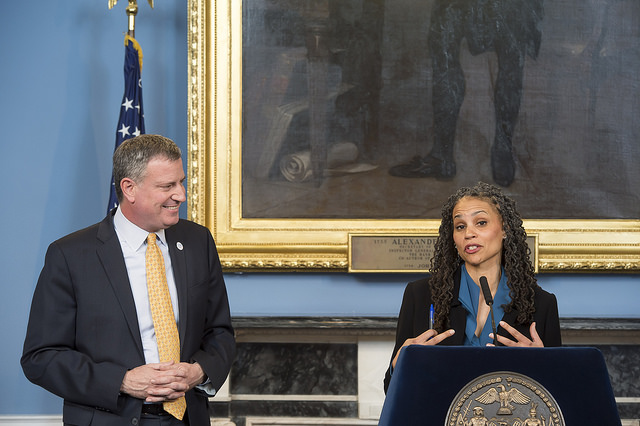 maya wiley mayor de blasio appointment