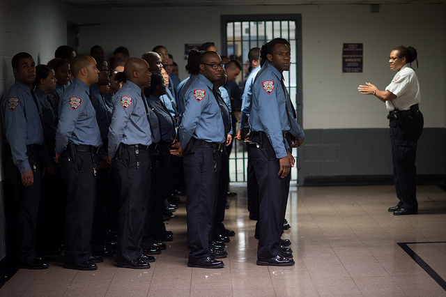 rikers guards