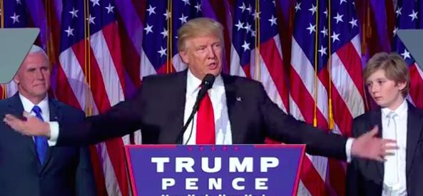 Trump election night 2