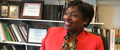 Senate Democratic Leader Andrea Stewart-Cousins