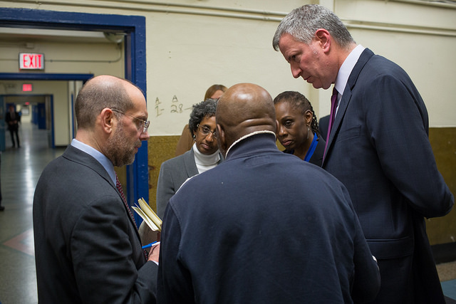 de blasio mccray banks shelter