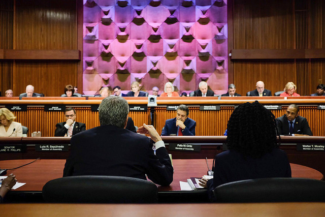 de Blasio Albany budget testimony