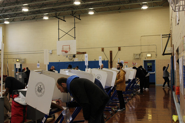 election polling place Brooklyn