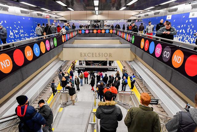 subway station MTA