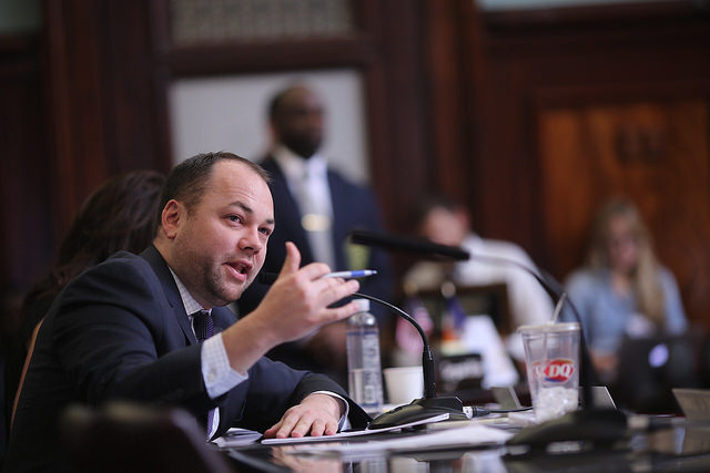 Corey Johnson hearing