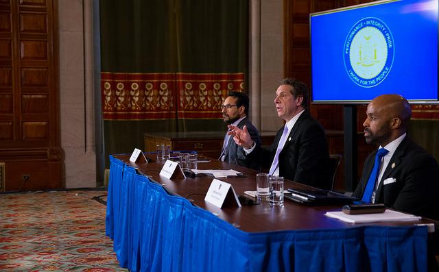 Cuomo budget press conference