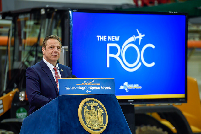 Governor Cuomo Delivers Budget Message In Rochester