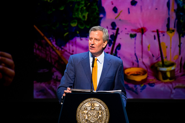 Mayor de Blasio State of the City