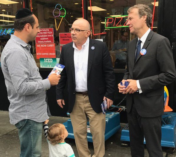 albanese campaigning eisenbach kid