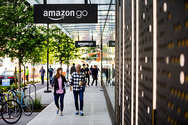 amazon go via amazon dot com