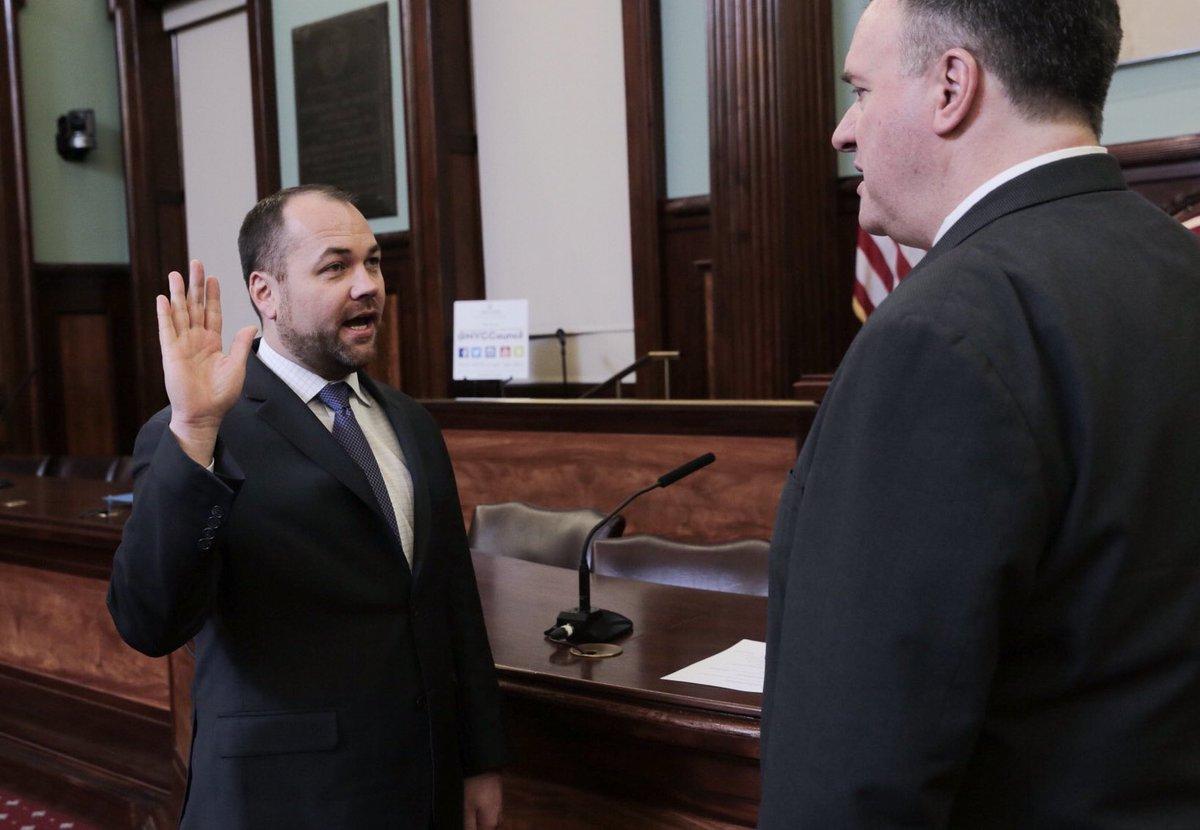corey oath of office