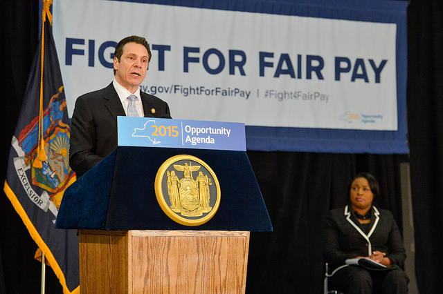 cuomo fight fair pay wage