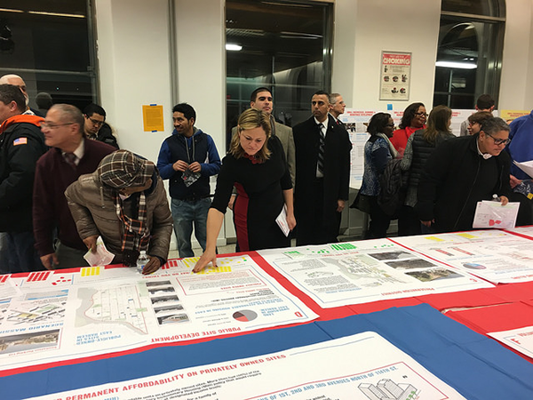 mark viverito at east harlem planning session