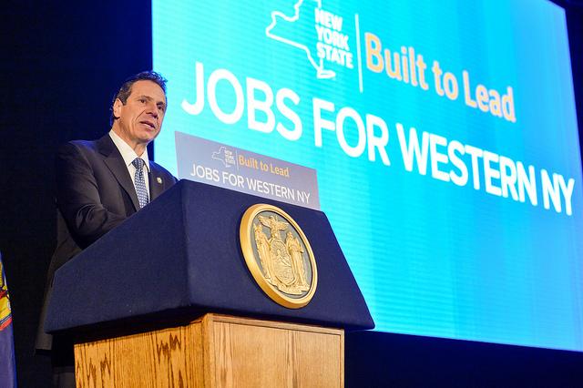 Cuomo jobs western new york