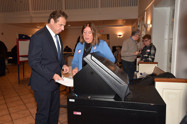 Cuomo voting election integrity