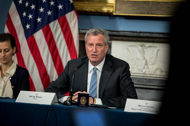 Mayor de Blasio City Hall