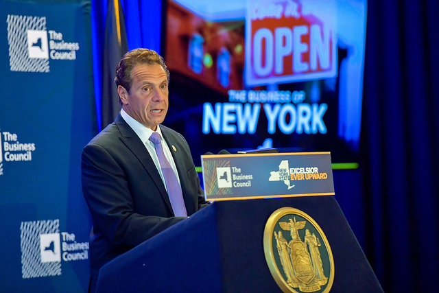Cuomo announcement open for business