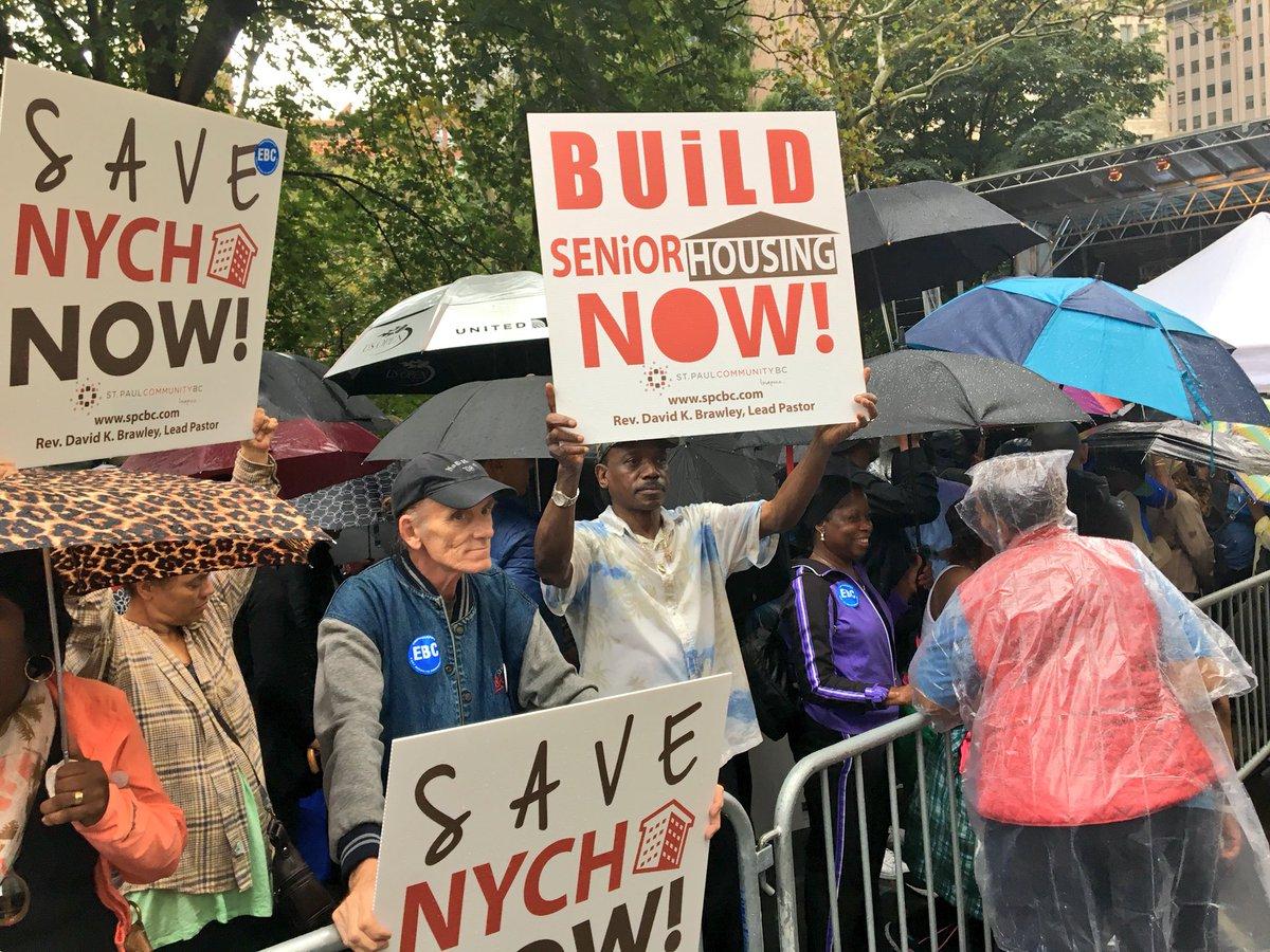 housing rally sign via nyccomptroller