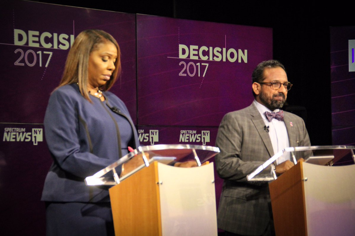 Tish James JC Polanco public advocate debate via nyc votes