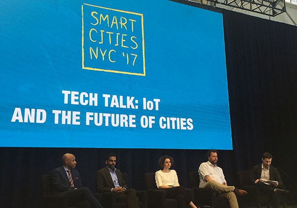 smart cities iot panel