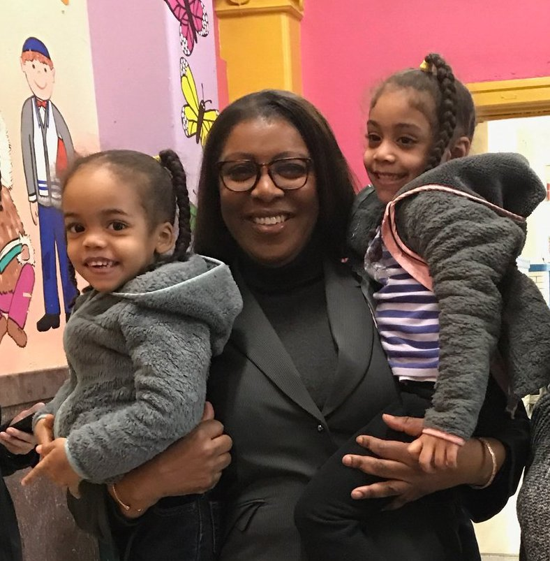 tish james and kids 1