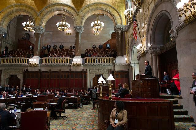 Cuomo convention senate