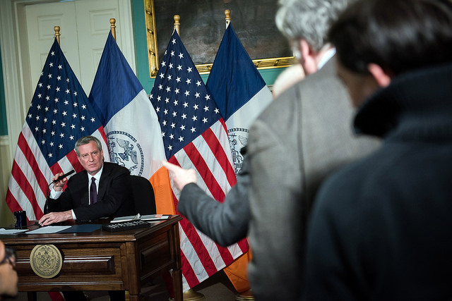 Mayor de Blasio charter revision