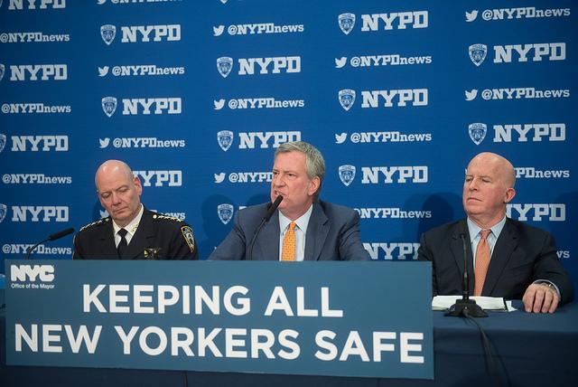 de Blasio NYPD