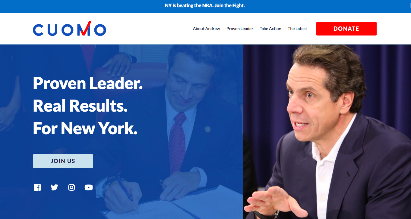 What You Can Learn From the Gubernatorial Candidates' Campaign Websites