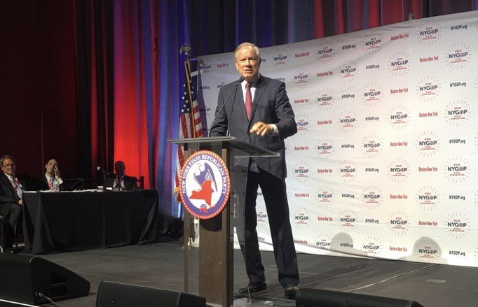 george pataki at podium gop