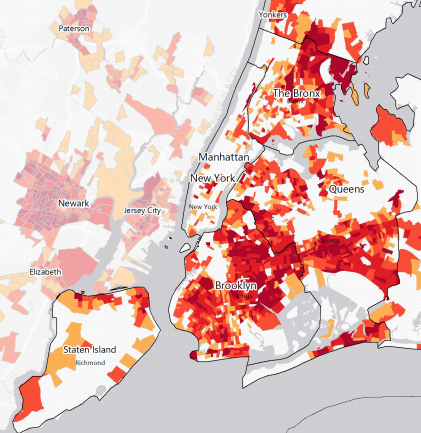 census hard to count map via cuny grad center