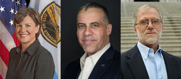 Gubernatorial Candidates Miner, Sharpe & Hawkins Lay Out Campaign Platforms, Cases Against Cuomo