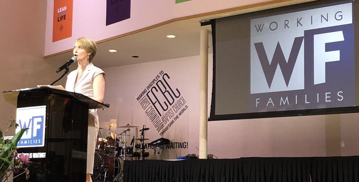 Cynthia Nixon WFP nomination
