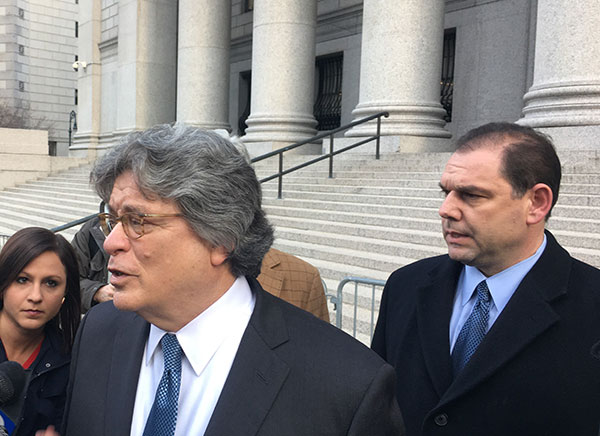 percoco lawyer steps of courthouse